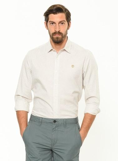 Timberland Uzun Kollu Gömlek Beyaz